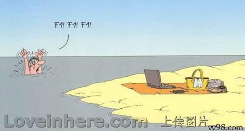 电脑迷溺水后...