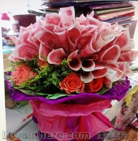 圣诞节希望男友送我一束花