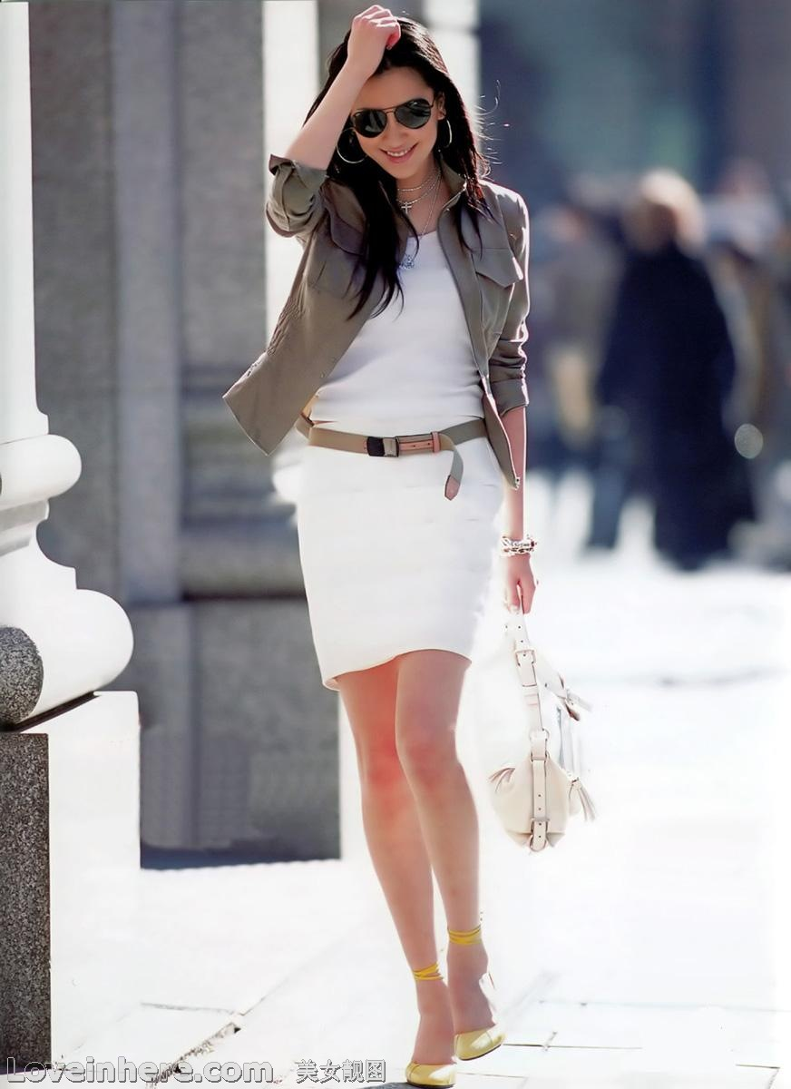 白领的时尚!