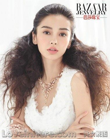 angelababy 时尚模特而在香港崭露头角
