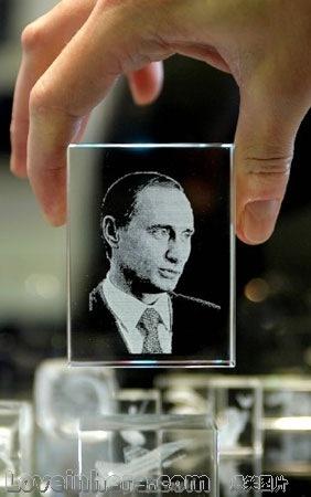 刻的俄罗斯总统普京头像