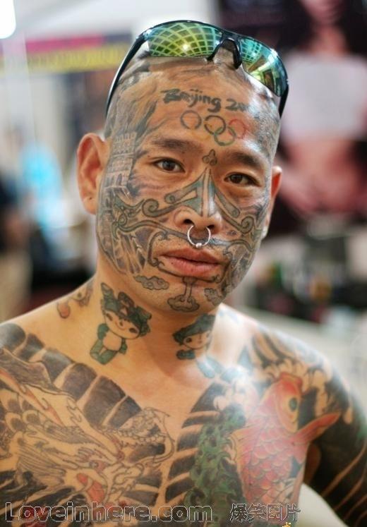 中国第一纹身大师_中国纹身第一人--刘明