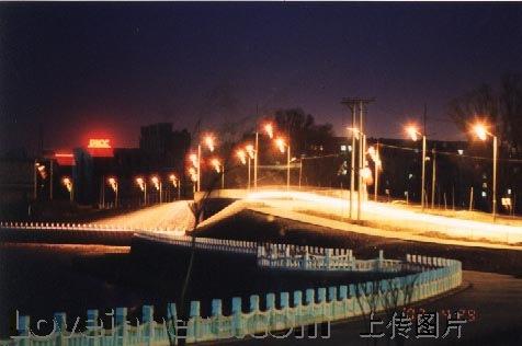 齐齐哈尔市-鹤城夜景